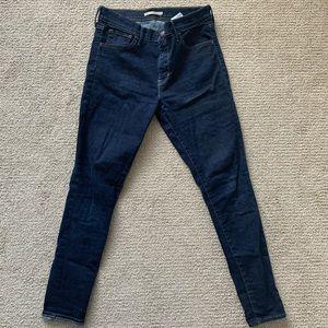 "Levi's ""720 super high rise skinny"" jeans"
